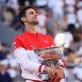 Gest de mare campion facut de Novak Djokovici dupa ce a castigat Roland Garros VIDEO