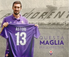 Gest emotionant al cluburilor Fiorentina si Cagliari in memoria lui Davide Astori