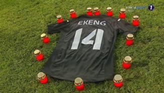 Gest emotionant facut de conducerea lui Dinamo, in memoria lui Patrick Ekeng