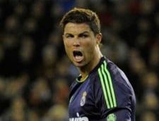Gest nesportiv al lui Cristiano Ronaldo (video)