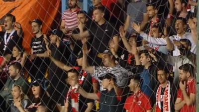 Gest revoltator al fanilor lui Dinamo: Au injurat Steaua in timpul minutului de reculegere tinut in memoria lui Cristian Topescu