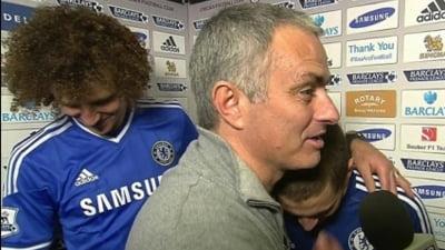 Gest surprinzator al lui Jose Mourinho in fata camerelor tv (Video)