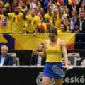 Gestul Simonei Halep: Ce a facut inaintea meciului decisiv din Fed Cup