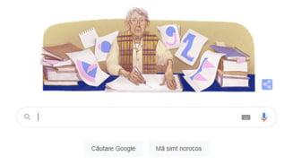 Geta Bratescu, omagiata de Google, la 95 de ani de la nasterea sa