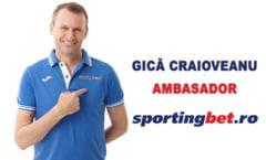 Gica Craioveanu, noul ambasador al unei agentii de pariuri
