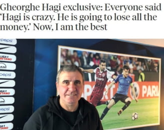 "Gica Hagi, in presa straina: ""Ianis e numarul 10 perfect"". Cum comenteaza mutarea la Rangers"