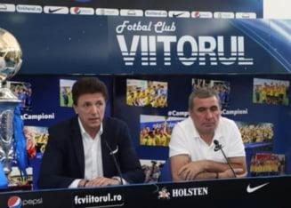 Gica Popescu dezvaluie ca el a avut cel mai mult de suferit din cauza diminuarii salariilor de la Viitorul