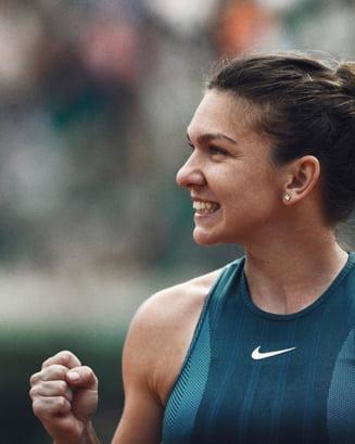 Gigantul american Nike, mesaj emotionant pentru Simona Halep