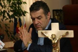 Gigi Becali nu a fost la slujba oficiata duminica, la Rahova