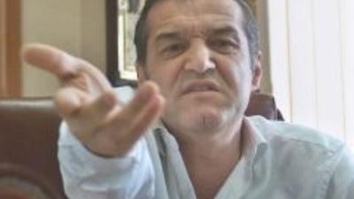 Gigi Becali si-a desfiintat din nou jucatorii
