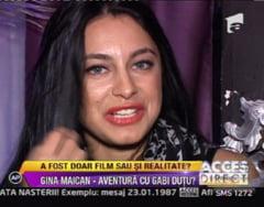 Gina Maican, despre relatia cu actorul Gabriel Dutu