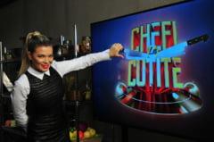 Gina Pistol, intr-o postura neobisnuita la TV