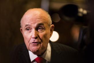 Giuliani spune ca a discutat cu cel putin un oficial roman privind scrisoarea catre Iohannis