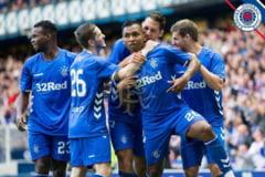 Glasgow Rangers, trupa antrenata de Steven Gerrard, ar putea castiga prin neprezentare jocul de joi din Europa League