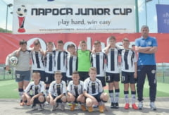 Gloria 2003, 7 victorii si doar o infrangere la Napoca Junior Cup