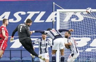 Gol fantastic marcat de portarul lui Liverpool, la ultima faza a meciului. Dedicatie speciala la final VIDEO