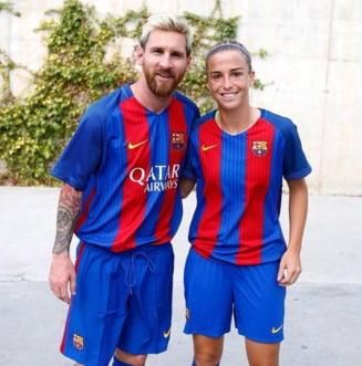Gol fenomenal inscris de o jucatoare a Barcelonei: Reusita in stilul lui Messi sau Maradona (Video)