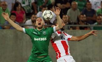 Gol marcat de Cosmin Moti in campionatul din Bulgaria, pentru Ludogorets (Video)