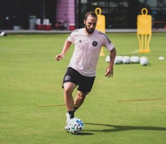 Gonzalo Higuain a semnat cu Inter Miami