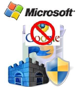 Google Chrome, confundat cu un virus