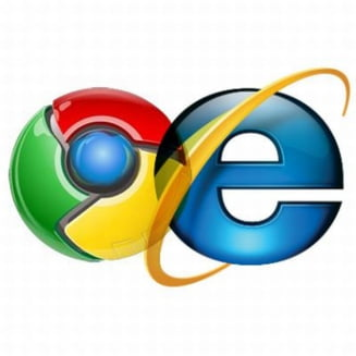 Google Chrome ar putea depasi Internet Explorer