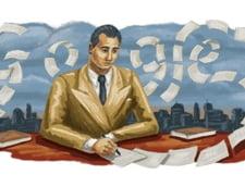 Google il omagiaza astazi pe scriitorul roman Mihail Sebastian. Doodle-ul creat pentru pagina principala a motorului de cautare
