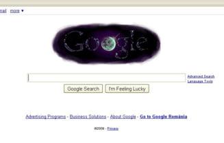 Google isi schimba logo-ul pentru a anunta descoperirea apei pe Luna