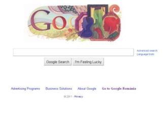 Google sarbatoreste 8 martie, Ziua Internationala a Femeii
