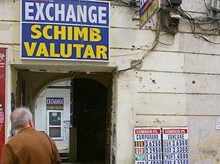 Gorbunov a jefuit si o casa de schimb valutar din Hunedoara