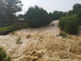 Gorj: Inundatiile au produs pagube de 3 milione de lei