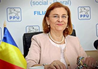 Grapini este acuzata ca apare ilegal pe lista PSD pentru europarlamentare, ea fiind membra a partidului lui Dan Voiculescu