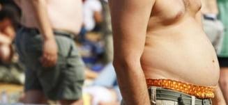 Grasimile abdominale, mai periculoase decat obezitatea