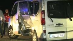 Grav accident cu victime la Constanta: Un microbuz al Jandarmeriei a intors pe linia dubla continua (Video)