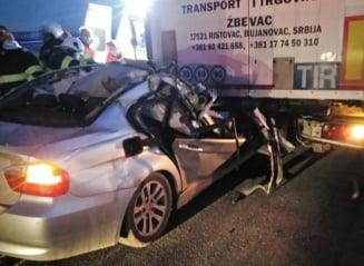 Grav accident de circulatie pe autostrada A1: un barbat a murit, iar politistii au intocmit un dosar penal