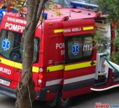 Grav accident in Dolj: Unul dintre raniti a fost preluat de un elicopter SMURD