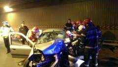 Grav accident in Pasajul Unirii din Bucuresti: un mort si un ranit