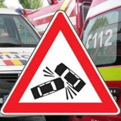 Grav accident in Sibiu: Doi morti si patru raniti