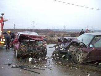 Grav accident rutier in Capitala: cinci raniti