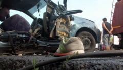Grav accident rutier la Hanul Morilor. Doua persoane au decedat!