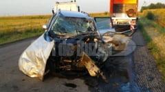 Grav accident rutier provocat de un sofer imprudent la C.A. Rosetti
