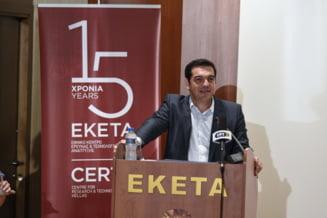 Grecia: Tsipras, despre perioada intunecata prin care au trecut elenii