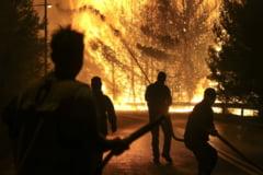 Grecia este devastata de incendii: Situatia este critica in Zakynthos. Arde si Kefalonia