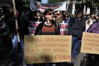 Grecia incepe anul cu o noua greva