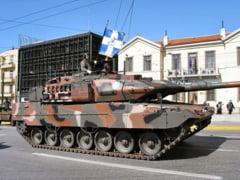 Grecia se inarmeaza de 13,5 milioane de euro, in plina criza