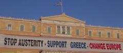 Grecia se scufunda: Bancile, inchise pana pe 7 iulie. Grecii pot retrage doar 60 de euro pe zi (Video)