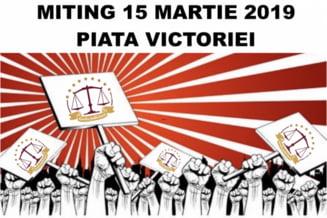 Grefierii anunta proteste si un miting de amploare in Piata Victoriei