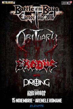Grei ai metalului, in concert la Bucuresti