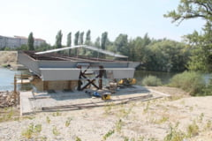 Greseli de executie ce trebuie indreptate - Podul Macio, in continua constructie