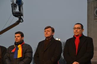 Greva USL: Ce fac Ponta si Antonescu cu banii de la Parlament