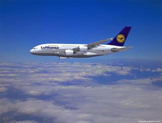Greva de la Lufthansa anuleaza 26 de zboruri in Romania